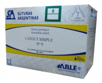CATGUT SIMPLE 3-0 X 1,50 MT.